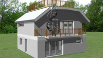Wohnhaus Gartensiedlungsgebiet - Sol 111