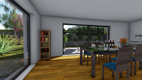Exklusive, belagsfertige Doppelhaushälfte in Hintersdorf