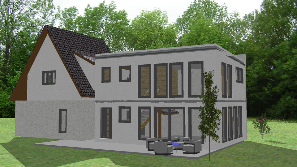 zubau einfamilienhaus vertumnus 70 plus ing bianca benedik. Black Bedroom Furniture Sets. Home Design Ideas