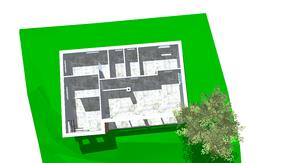 Bungalow: Entwurf für eine Badehütte in Niederösterreich