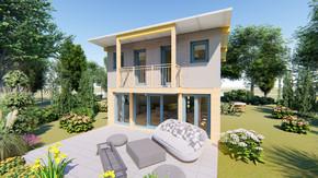 Kleingartenhaus - Athene 35