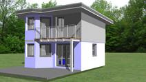 Kleingartenwohnhaus - Luna 50
